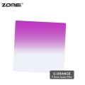 Zomei G Purple Graduated purple Color Square Filter (Fit for Cokin Holder)